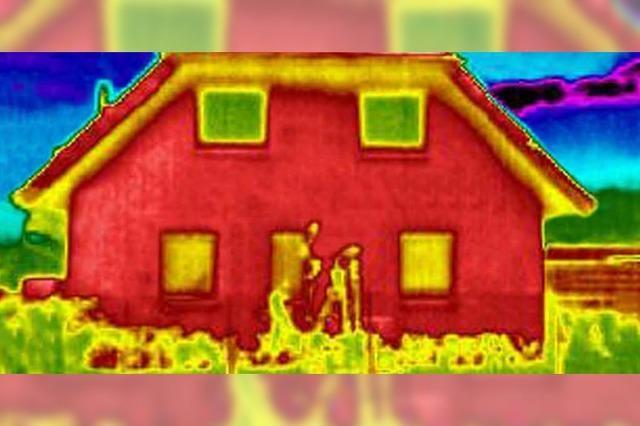 Gebäudetest mit Wärmebildkamera