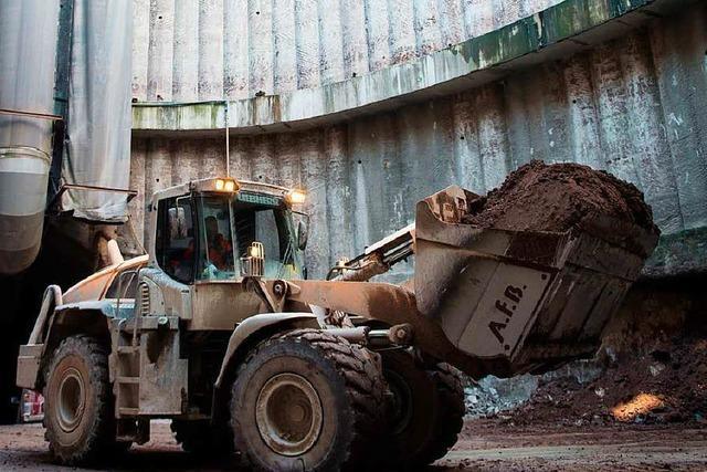 Weiterhin Skepsis bei Tunnelbau durch Gestein Anhydrit