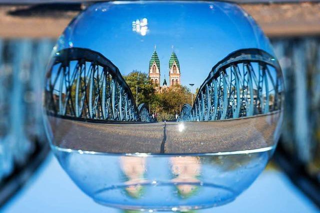 Freiburg aus der Goldfisch-Perspektive