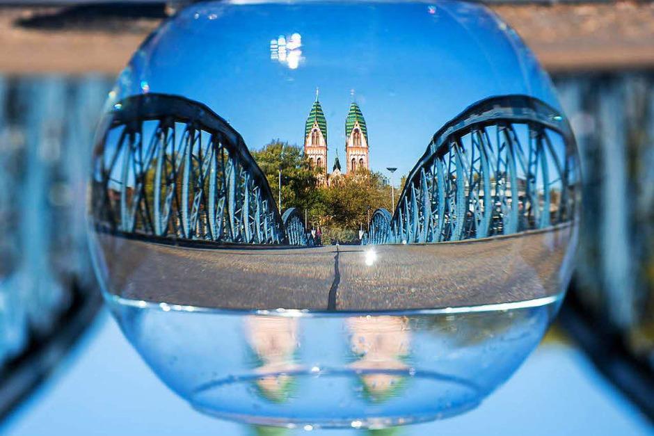 Freiburg als Ansichtssache (Foto: Carlotta Huber)