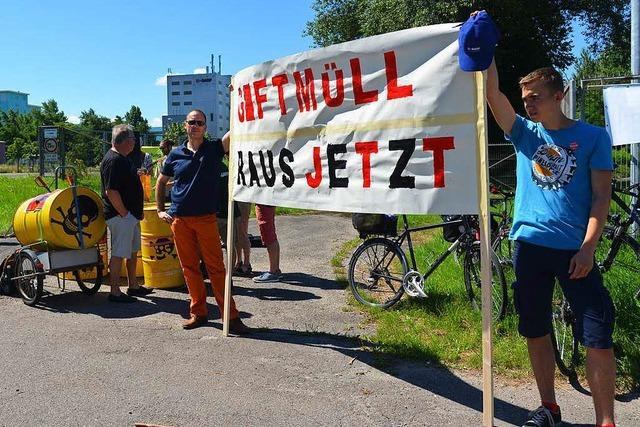 Altlast Kesslergrube: RP will Einkapselung in Grenzach-Wyhlen erlauben
