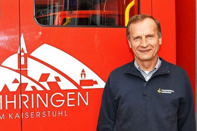Feuerwehrkommandant Hubert Lay hört auf