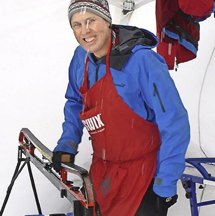 Gleithelfer: Perfekt gewachste Ski  erhofften sich alle Pennäler.  | Foto: Annemarie Zwick