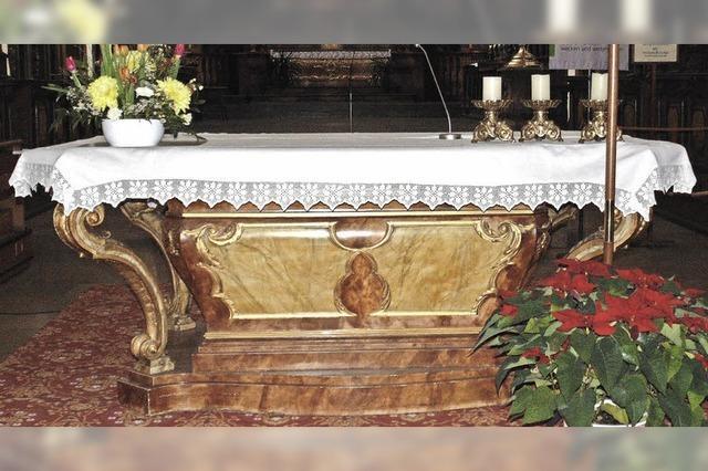 Pfarrgemeinderat will neuen Altar