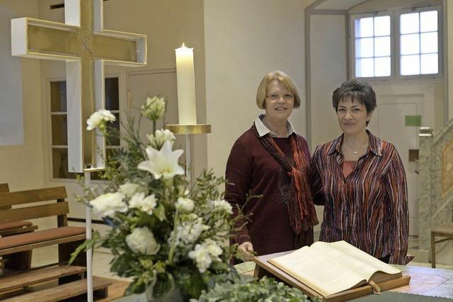 Almut Oser und Susann Woischnor übernehmen als Prädikantinnen ehrenamtlich Gottesdienste