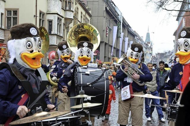 Polizei stockt Personal bei Fasnets-Umzügen in Freiburg und der Region auf
