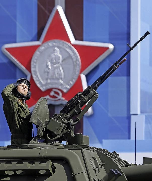 Auf Waffen ist man stolz, Tapferkeit und Pflichtgefühl gelten als Tugend.  | Foto: Sergei Ilnitsky