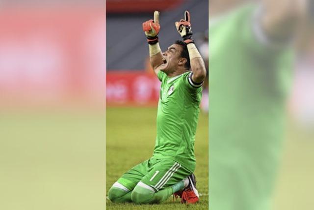 Der 44-jährige Torwart El Hadary erreicht mit Ägypten das Finale des Afrika-Cups