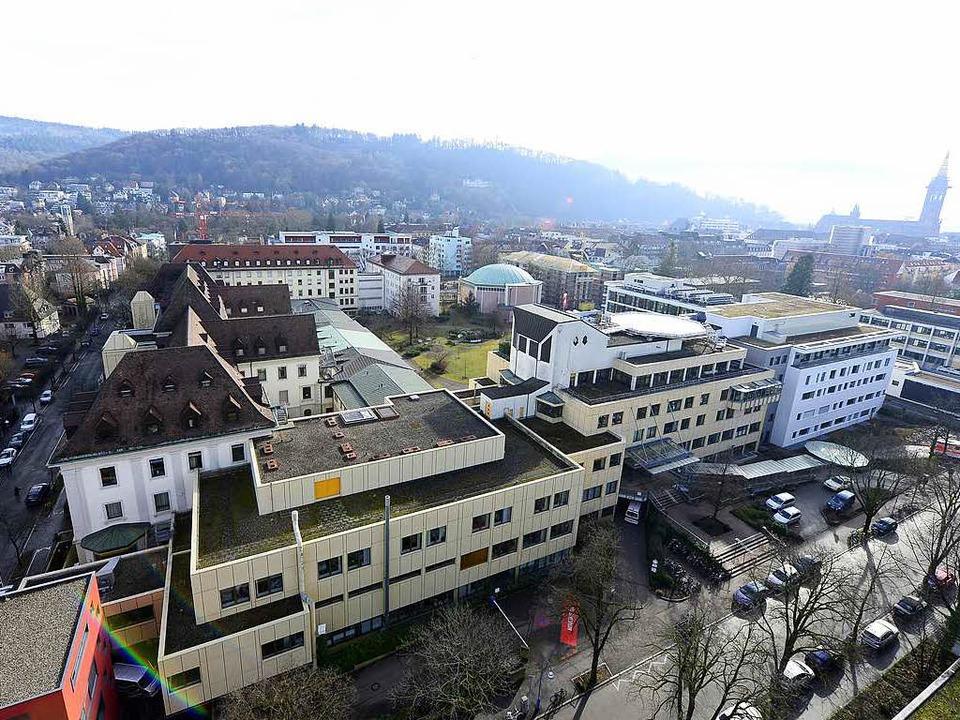 Das Freiburger Josefskrankenhaus macht Verluste.  | Foto: Ingo Schneider