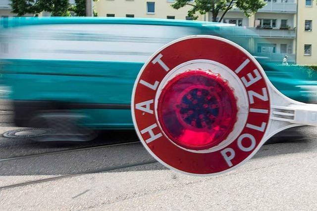 Auto kontrolliert: kein plausibler Grund für Aufenthalt in Lörrach