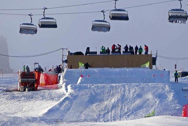Am Wochenende findet der FIS Snowboard-Cross-Weltcup auf dem Feldberg statt