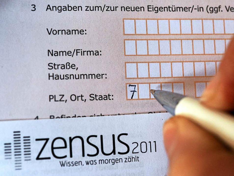 Der Zensus-Fragebogen  | Foto: dpa