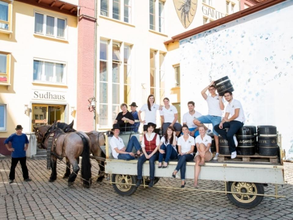 Brau-Erlebnisführungen der Brauerei Ganter  | Foto: Brauerei Ganter