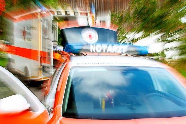 Unfall mit zwei Verletzten in Lörrach: Rund 8000 Euro Schaden