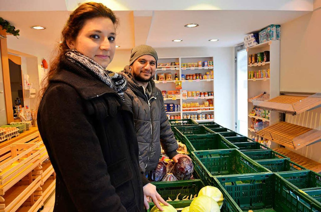 Nazen und Serkan Baydar eröffnen einen...den in der Schönbergstraße in Ebringen  | Foto: Moritz Lehmann
