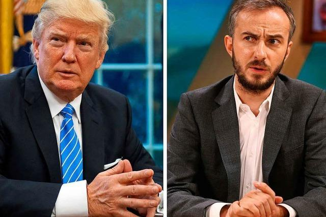 Jan Böhmermann vereint Europas Satiriker gegen Trump