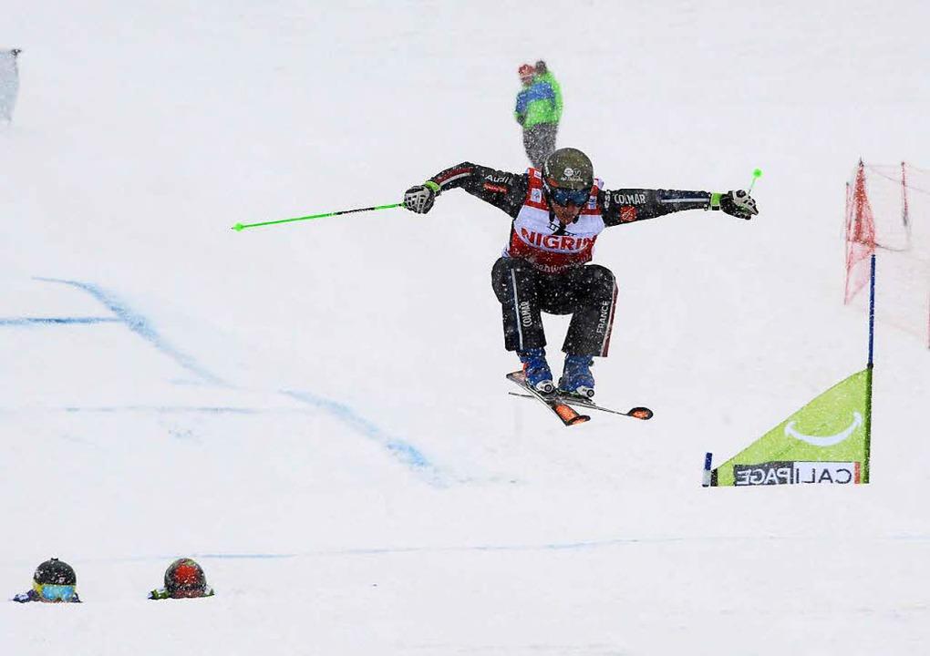 Sieger bei den Männern: Jean Frederic Chapuis aus Frankreich.  | Foto: dpa