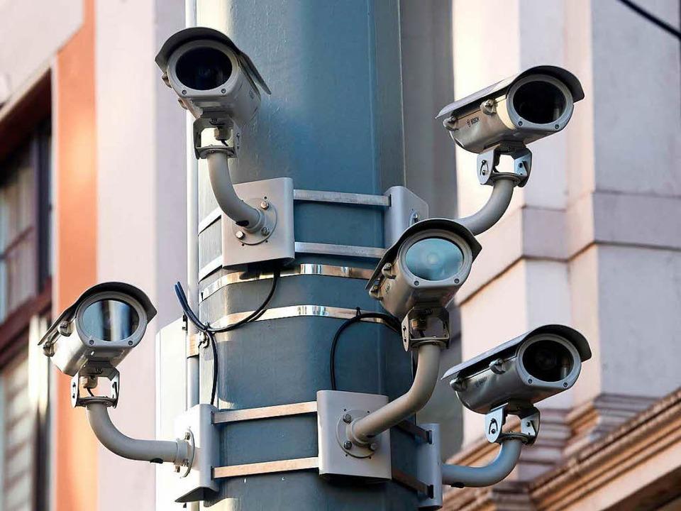 Solche Kamerasysteme gehören in Freiburg noch nicht zum Stadtbild.  | Foto: dpa