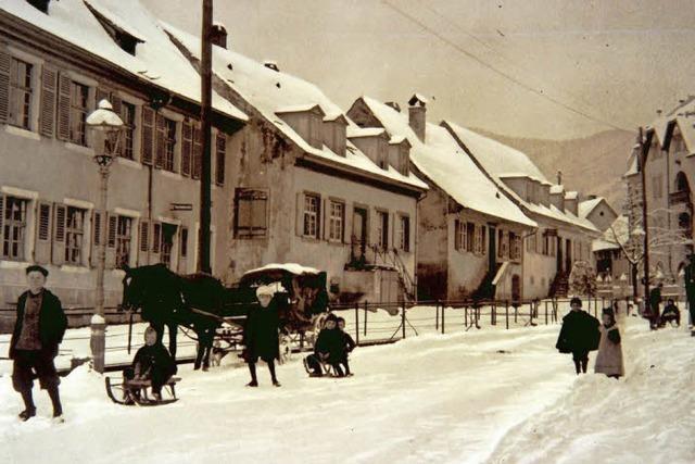 Wie die Hautpstraße in Herdern sich verändert hat
