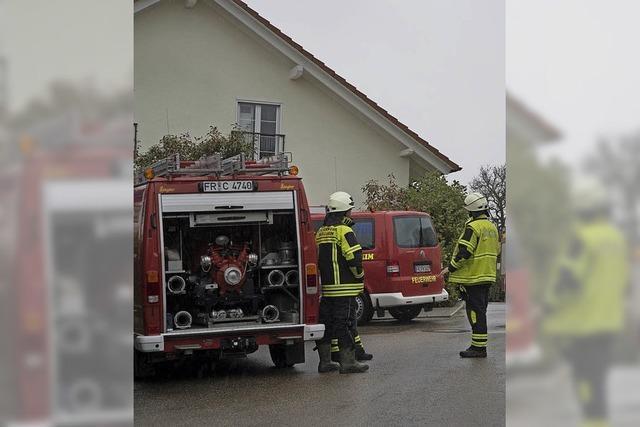 Böen, Unfall und ein Gasalarm