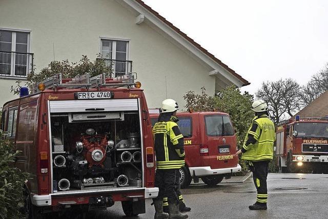 Viel zu tun für die Feuerwehr am Wochenende