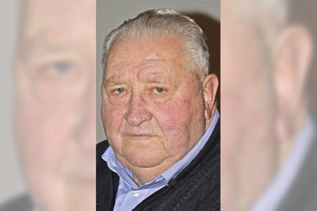 Ernst Weiler 80 Jahre alt