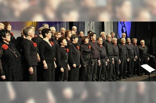 Gesangverein Altenheim überraschte mit toller Show