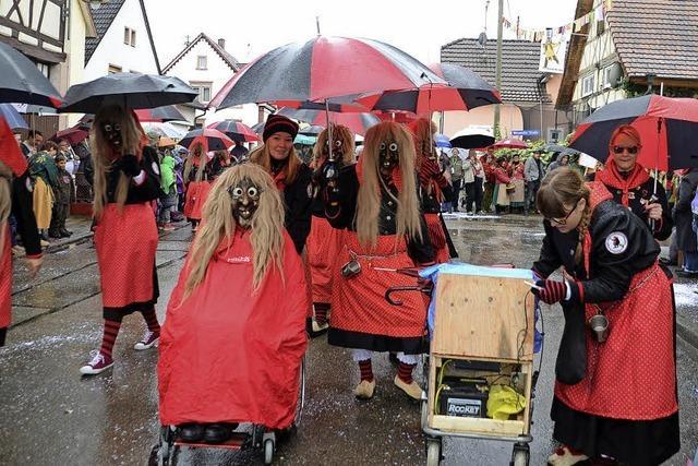 Narrenparade in Forchheim
