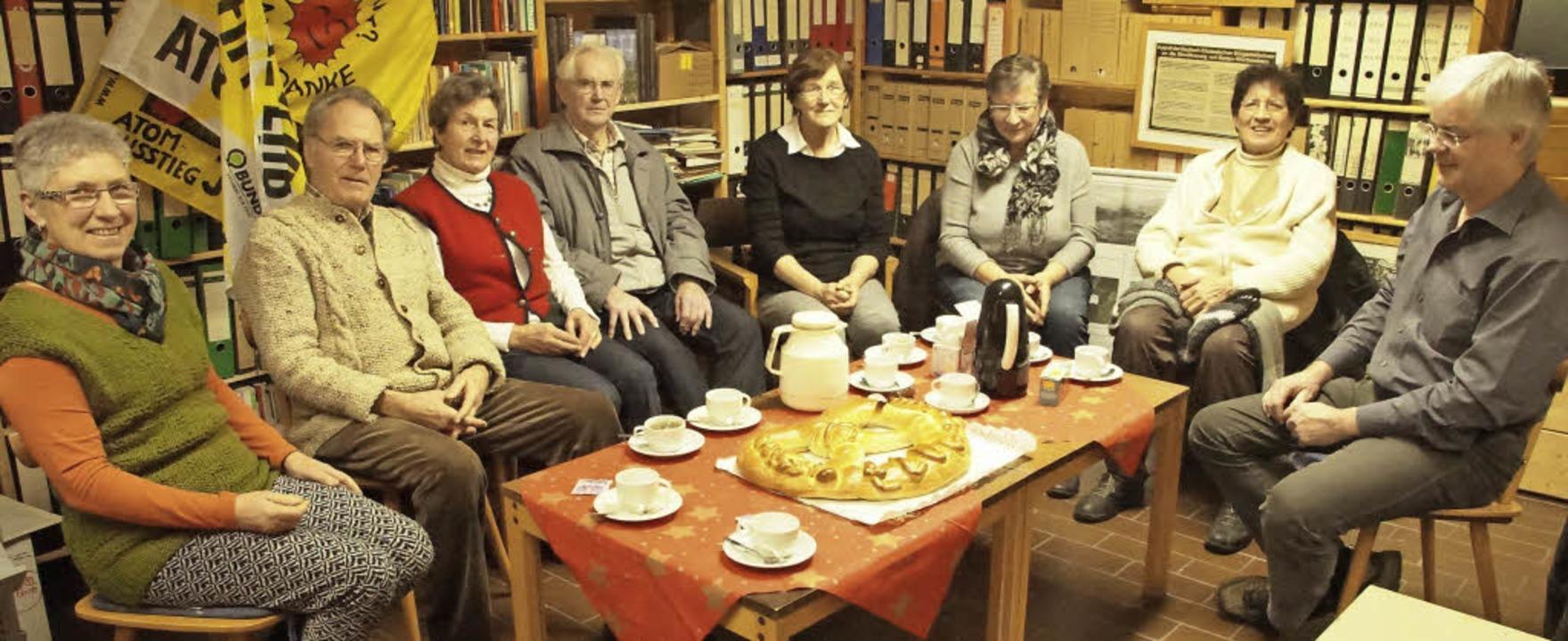 Mahnwache in Weisweil:  Das erste  Tre...rgerinitiativen im Gemeindehaus statt.    Foto: Ilona Hüge