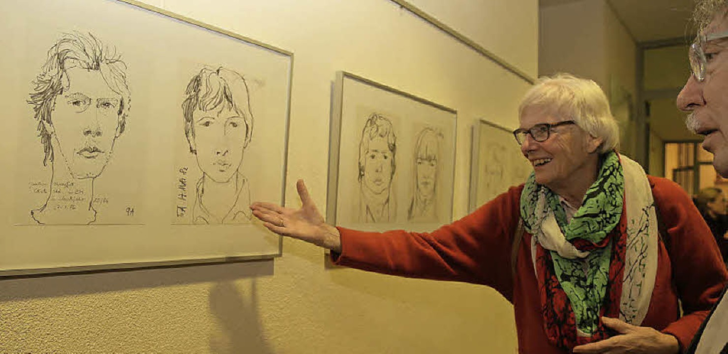 Wie auf einer Entdeckungsreise: Erste ...üheren Kunstpädagogen Herbert Schäfer   | Foto: Sandra DEcoux-KOne