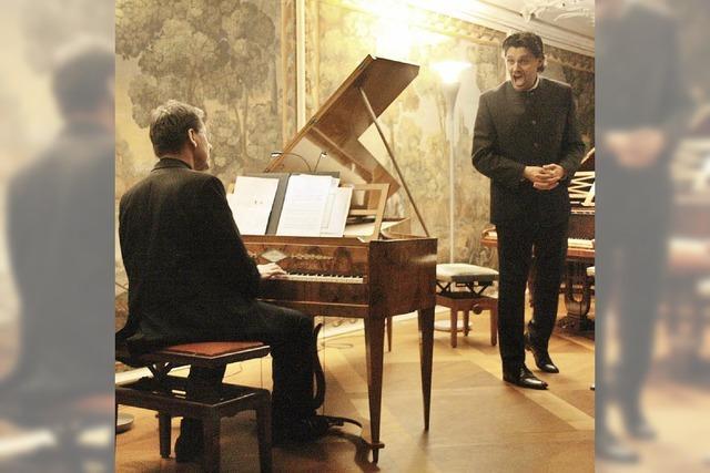 Musikalisches Trinkgelage im Bad Krozinger Schloss