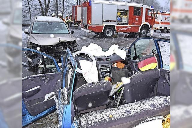 Zwei Frauen schwer verletzt