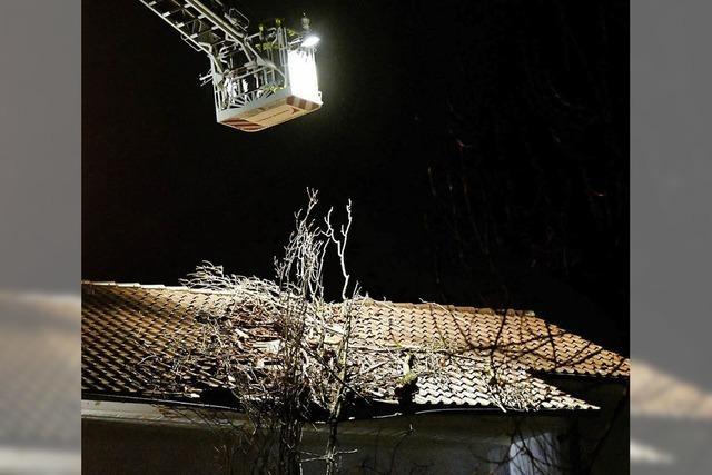 Sturm fegt über Offenburg