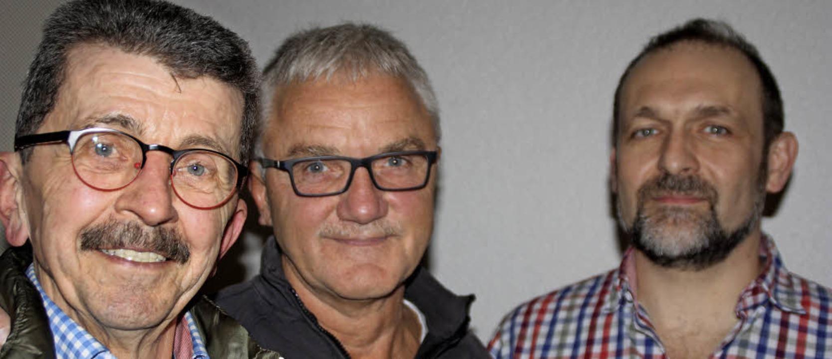 Die Neuen im Vorstandsteam der Radlerf...eite Vorsitzende Andreas Kohlbrenner.   | Foto: Gerd Leutenecker