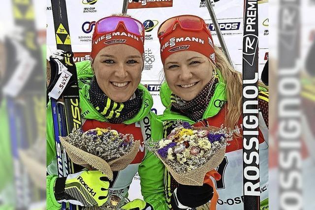 Annika Knoll zweimal in den Top Ten