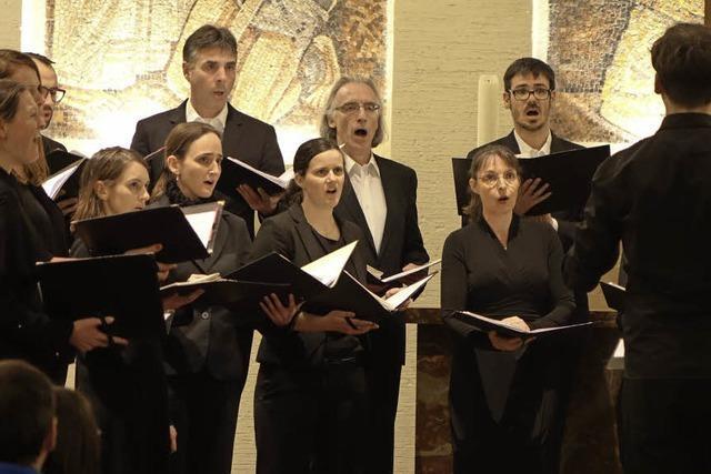 Zürcher Vokalisten treten mit orthodoxen Gesängen in Rheinfelden auf