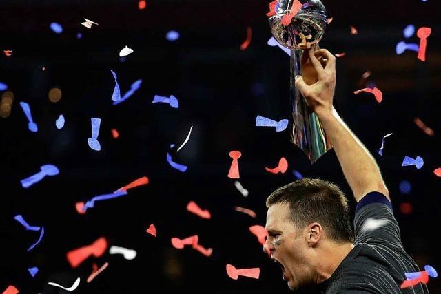 Super Bowl: Tom Brady krönt episches Patriots-Comeback