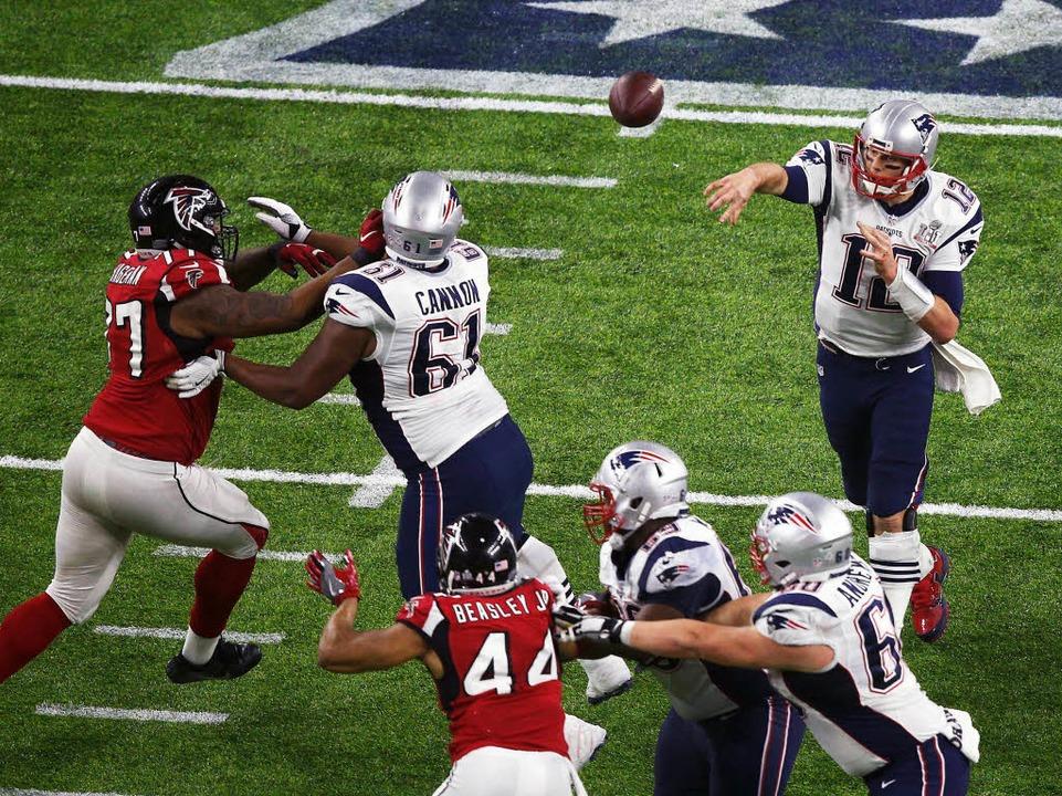 Tom Brady im Spiel  | Foto: AFP