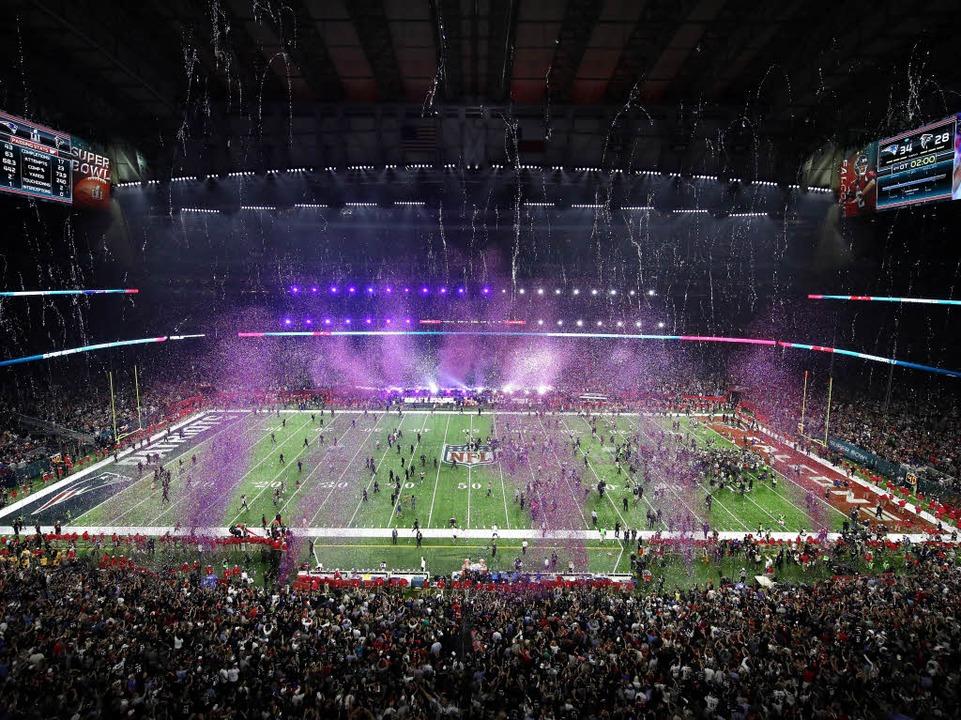 Siegesfeier im NRG Stadium  | Foto: AFP