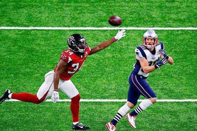 New England Patriots gewinnen im Super Bowl gegen die Atlanta Falcons