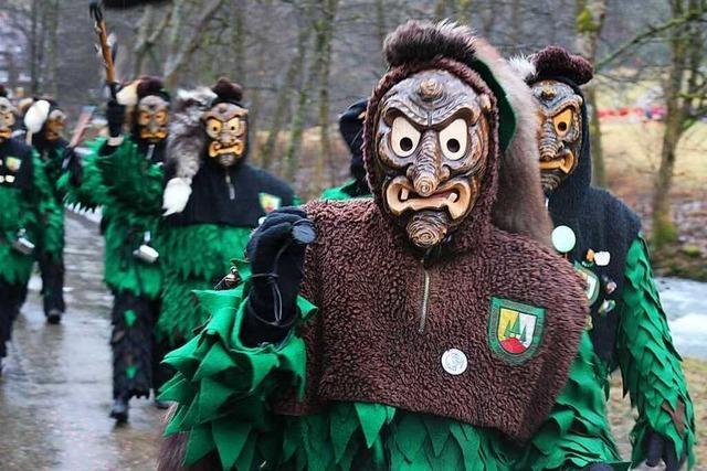 Fotos: Jubiläumsumzüge der Hohwaldgeischter in Simonswald