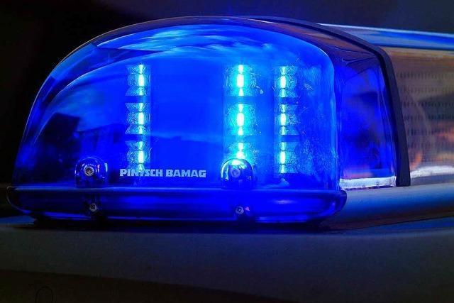 Betrunkener in Lörrach: Ausnüchterungszelle statt Bad in Wiese