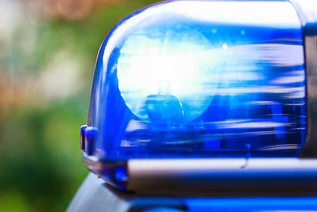 Einbruchsversuch in der Innenstadt: Polizei schnappt zwei Täter, einer flieht
