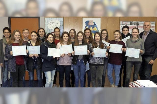 Sprachdiplom für Schüler