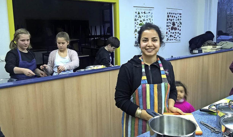 Sie ist die Chefköchin an dem Abend.   | Foto: privat
