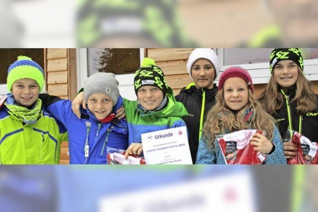 Auf schnellen Skiern bis ins Bundesfinale