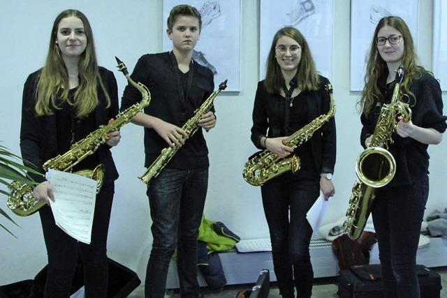 Instrumentalisten mit viel Talent