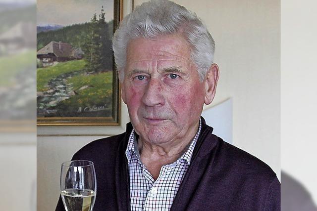 Rudolf Jenne feiert seinen 85. Geburtstag