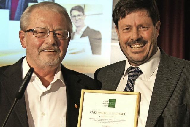 Gewerbeverein der Schweizer Nachbarstadt verabschiedet Fritz Gloor