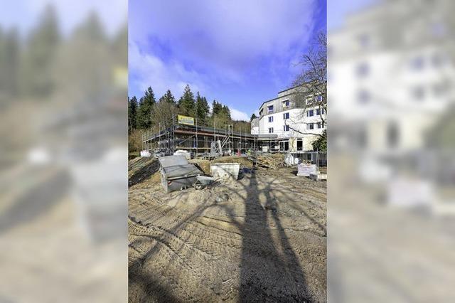 Im Frühjahr soll Umbau der Jugendherberge Freiburg abgeschlossen sein
